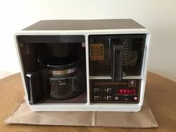 Vintage GE Under Cabinet Spacemaker Electronic Coffee Maker