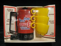 Vintage 70's Empire Flame Red MUGWUMP 3-Cup Hot Pot Coffee T